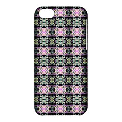 Colorful Pixelation Repeat Pattern Apple Iphone 5c Hardshell Case
