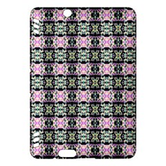 Colorful Pixelation Repeat Pattern Kindle Fire HDX Hardshell Case