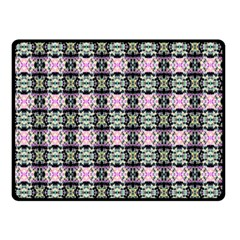 Colorful Pixelation Repeat Pattern Double Sided Fleece Blanket (small)