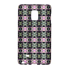 Colorful Pixelation Repeat Pattern Galaxy Note Edge