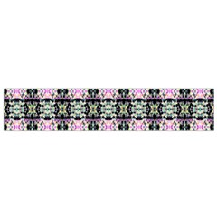 Colorful Pixelation Repeat Pattern Flano Scarf (small)