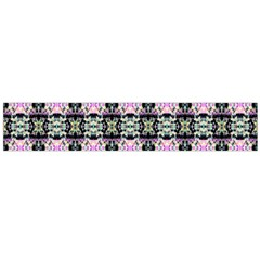 Colorful Pixelation Repeat Pattern Flano Scarf (large)
