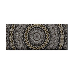 Celestial Pinwheel Of Pattern Texture And Abstract Shapes N Brown Cosmetic Storage Cases