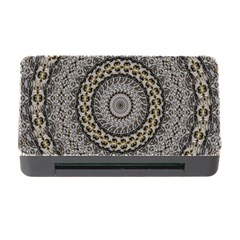 Celestial Pinwheel Of Pattern Texture And Abstract Shapes N Brown Memory Card Reader with CF