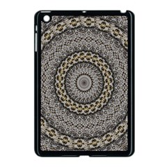 Celestial Pinwheel Of Pattern Texture And Abstract Shapes N Brown Apple Ipad Mini Case (black)