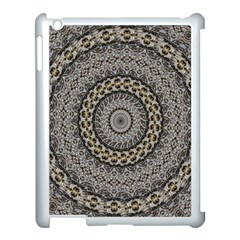 Celestial Pinwheel Of Pattern Texture And Abstract Shapes N Brown Apple Ipad 3/4 Case (white)