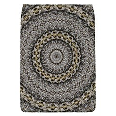Celestial Pinwheel Of Pattern Texture And Abstract Shapes N Brown Flap Covers (s)