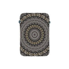 Celestial Pinwheel Of Pattern Texture And Abstract Shapes N Brown Apple Ipad Mini Protective Soft Cases