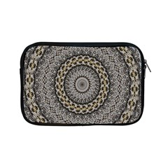 Celestial Pinwheel Of Pattern Texture And Abstract Shapes N Brown Apple Ipad Mini Zipper Cases