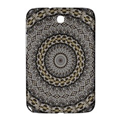 Celestial Pinwheel Of Pattern Texture And Abstract Shapes N Brown Samsung Galaxy Note 8.0 N5100 Hardshell Case