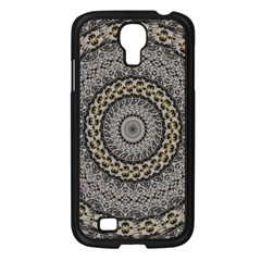 Celestial Pinwheel Of Pattern Texture And Abstract Shapes N Brown Samsung Galaxy S4 I9500/ I9505 Case (black)