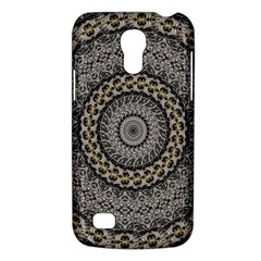 Celestial Pinwheel Of Pattern Texture And Abstract Shapes N Brown Galaxy S4 Mini