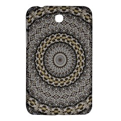 Celestial Pinwheel Of Pattern Texture And Abstract Shapes N Brown Samsung Galaxy Tab 3 (7 ) P3200 Hardshell Case