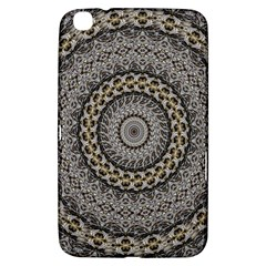 Celestial Pinwheel Of Pattern Texture And Abstract Shapes N Brown Samsung Galaxy Tab 3 (8 ) T3100 Hardshell Case