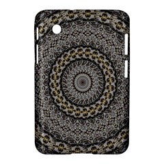 Celestial Pinwheel Of Pattern Texture And Abstract Shapes N Brown Samsung Galaxy Tab 2 (7 ) P3100 Hardshell Case