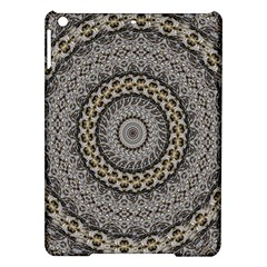 Celestial Pinwheel Of Pattern Texture And Abstract Shapes N Brown Ipad Air Hardshell Cases
