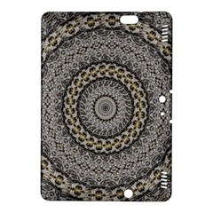 Celestial Pinwheel Of Pattern Texture And Abstract Shapes N Brown Kindle Fire Hdx 8 9  Hardshell Case