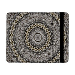 Celestial Pinwheel Of Pattern Texture And Abstract Shapes N Brown Samsung Galaxy Tab Pro 8.4  Flip Case