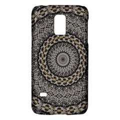Celestial Pinwheel Of Pattern Texture And Abstract Shapes N Brown Galaxy S5 Mini