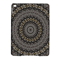 Celestial Pinwheel Of Pattern Texture And Abstract Shapes N Brown Ipad Air 2 Hardshell Cases
