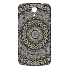 Celestial Pinwheel Of Pattern Texture And Abstract Shapes N Brown Samsung Galaxy Mega I9200 Hardshell Back Case
