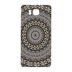 Celestial Pinwheel Of Pattern Texture And Abstract Shapes N Brown Samsung Galaxy Alpha Hardshell Back Case