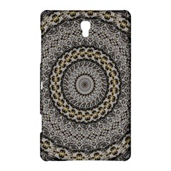 Celestial Pinwheel Of Pattern Texture And Abstract Shapes N Brown Samsung Galaxy Tab S (8.4 ) Hardshell Case