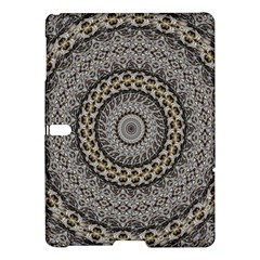 Celestial Pinwheel Of Pattern Texture And Abstract Shapes N Brown Samsung Galaxy Tab S (10 5 ) Hardshell Case