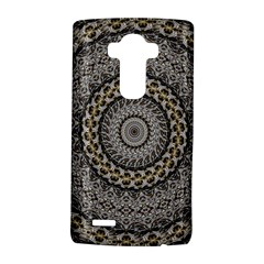 Celestial Pinwheel Of Pattern Texture And Abstract Shapes N Brown LG G4 Hardshell Case