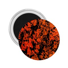 Abstract Orange Background 2.25  Magnets