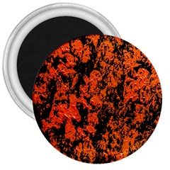 Abstract Orange Background 3  Magnets