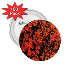 Abstract Orange Background 2 25  Buttons (100 Pack)