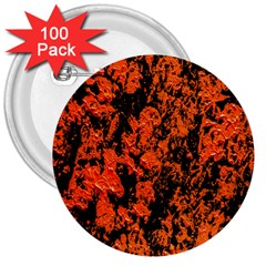 Abstract Orange Background 3  Buttons (100 Pack)