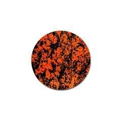 Abstract Orange Background Golf Ball Marker (10 pack)