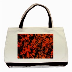 Abstract Orange Background Basic Tote Bag (Two Sides)