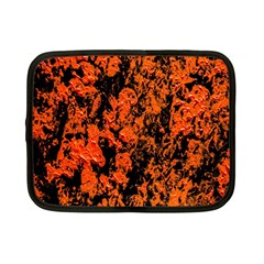 Abstract Orange Background Netbook Case (small)