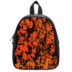 Abstract Orange Background School Bags (small)