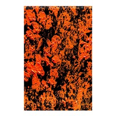Abstract Orange Background Shower Curtain 48  x 72  (Small)