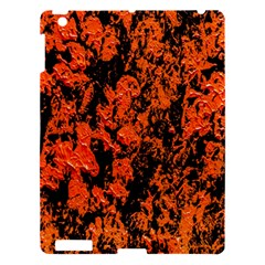 Abstract Orange Background Apple iPad 3/4 Hardshell Case