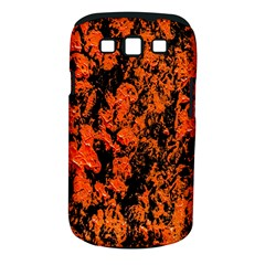 Abstract Orange Background Samsung Galaxy S Iii Classic Hardshell Case (pc+silicone)