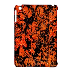 Abstract Orange Background Apple iPad Mini Hardshell Case (Compatible with Smart Cover)