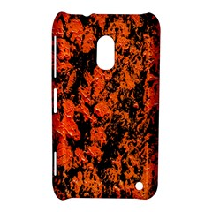 Abstract Orange Background Nokia Lumia 620