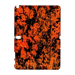 Abstract Orange Background Galaxy Note 1