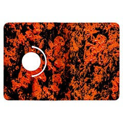 Abstract Orange Background Kindle Fire Hdx Flip 360 Case
