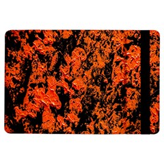 Abstract Orange Background Ipad Air Flip