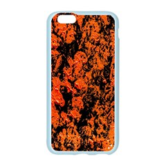 Abstract Orange Background Apple Seamless iPhone 6/6S Case (Color)