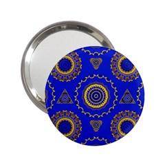 Abstract Mandala Seamless Pattern 2.25  Handbag Mirrors