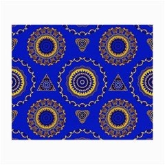 Abstract Mandala Seamless Pattern Small Glasses Cloth (2-Side)