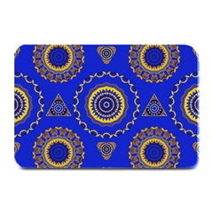 Abstract Mandala Seamless Pattern Plate Mats