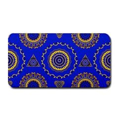 Abstract Mandala Seamless Pattern Medium Bar Mats